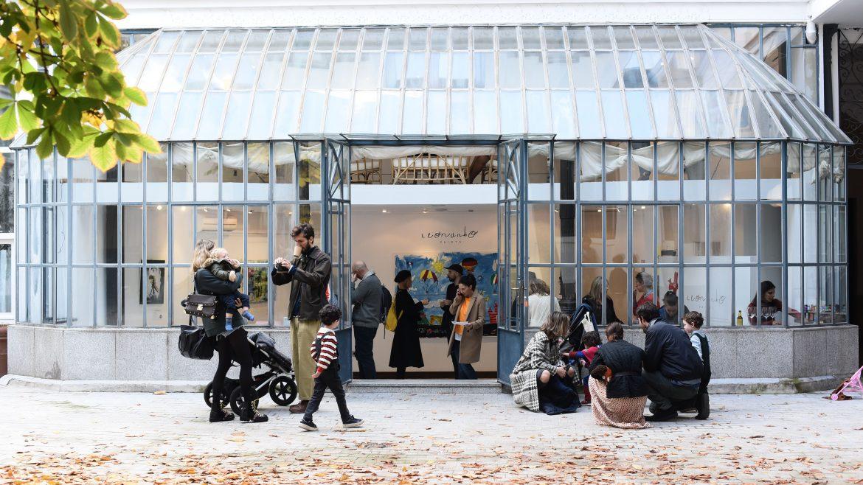 Inauguración Exposición Leonardo Paints